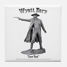 Wyatt Earp Tile Coaster