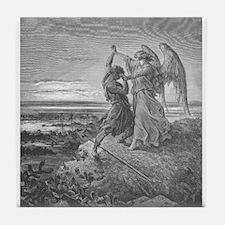 Dore - Jabob Wrestling with the Angel - 1855 - Dra