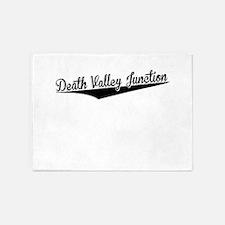 Death Valley Junction, Retro, 5'x7'Area Rug