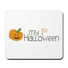 my 1st Halloween Mousepad