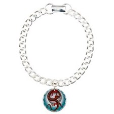 Fantasy Eastern Red Dragon Bracelet