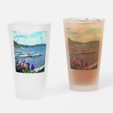 Lake George View Drinking Glass