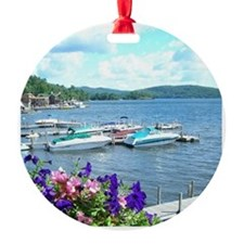 Lake George View Ornament