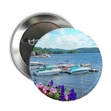 "Lake George View 2.25"" Button"