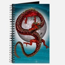 Fantasy Eastern Red Dragon Journal