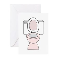 Potty Greeting Cards