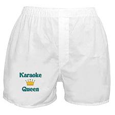 Karaoke Queen Boxer Shorts