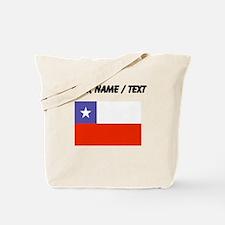 Custom Chile Flag Tote Bag
