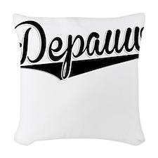 Depauw, Retro, Woven Throw Pillow