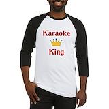 Karaoke Baseball Tee