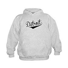 Detroit, Retro, Hoodie