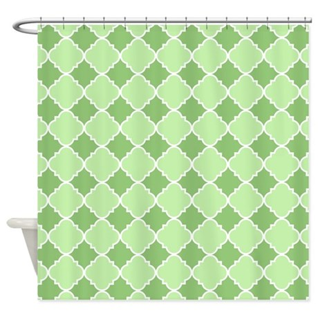 Keep your floor dry & safe from mildew with Green And White shower curtains from Zazzle! Choose from a number of great designs or create your own!