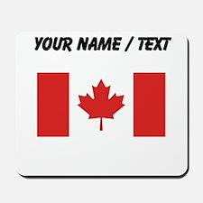 Custom Canada Flag Mousepad