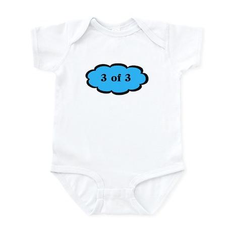 Funny Triplet 3 of 3 B Baby Bodysuit