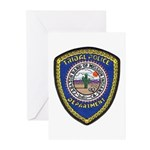 Indio Cabazon Police Greeting Cards (Pk of 10)
