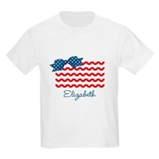 Girly Rick Rack Flag T-Shirt