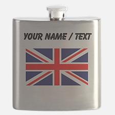 Custom Britain Flag Flask