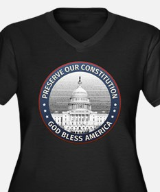 Preserve Our Constitution Plus Size T-Shirt
