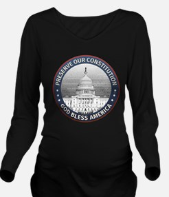Preserve Our Constitution Long Sleeve Maternity T-