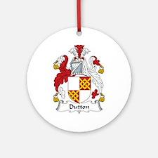 Dutton Ornament (Round)