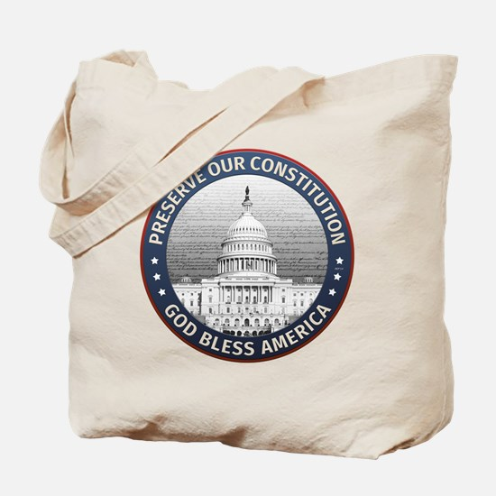 Preserve Our Constitution Tote Bag