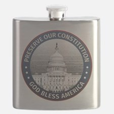 Preserve Our Constitution Flask