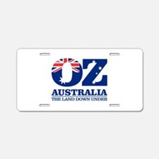 Australia (OZ) Aluminum License Plate
