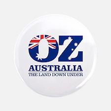 """Australia (OZ) 3.5"""" Button"""