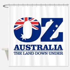 Australia (OZ) Shower Curtain