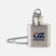 Australia (OZ) Flask Necklace