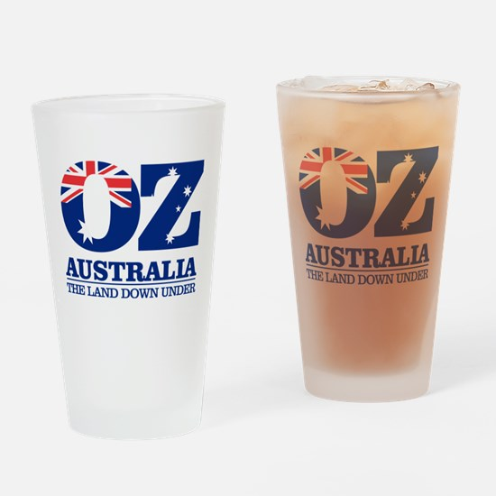 Australia (OZ) Drinking Glass
