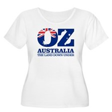 Australia (OZ) Plus Size T-Shirt