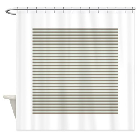 brown baby blue small stripes shower curtain by clipartmegamart