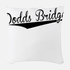 Dodds Bridge, Retro, Woven Throw Pillow