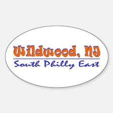 Wildwood - South Philly Oval Decal