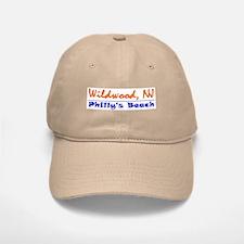 Wildwood Philly's Beach Baseball Baseball Cap