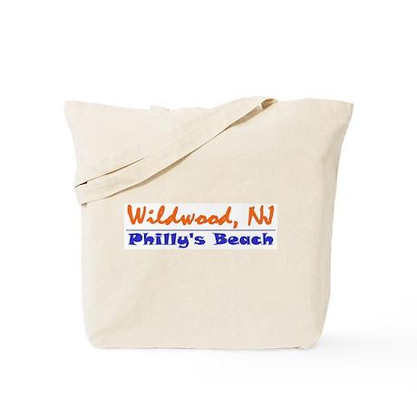 Wildwood Philly's Beach Tote Bag