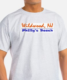Wildwood Philly's Beach T-Shirt