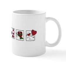 Three Valentine Scenes Mugs