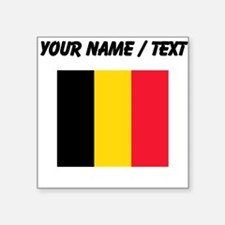 Custom Belgium Flag Sticker