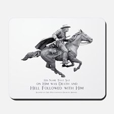Hell Rider Mousepad