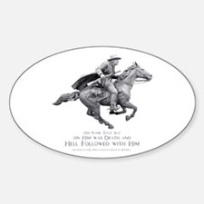 Hell Rider Oval Decal