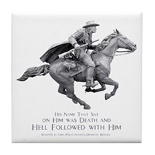 Hell Rider Tile Coaster
