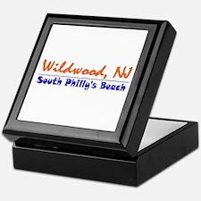 Wildwood South Philly Beach Keepsake Box