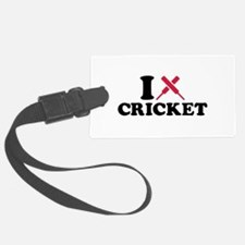 I love Cricket bats Luggage Tag