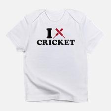 I love Cricket bats Infant T-Shirt