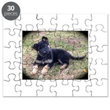 German Shepherd Pup Puzzle