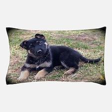 German Shepherd Pup Pillow Case
