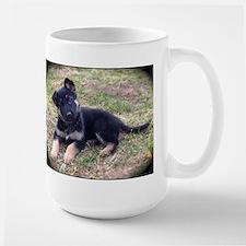 German Shepherd Pup Mugs