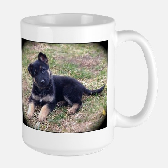 German Shepherd Pup Mugs